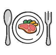 楽しく食事