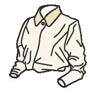 白シャツにデニムな奇麗系